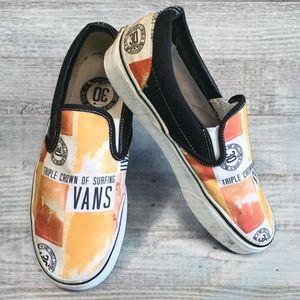 Vans Triple Crown of Surfing Slip ons